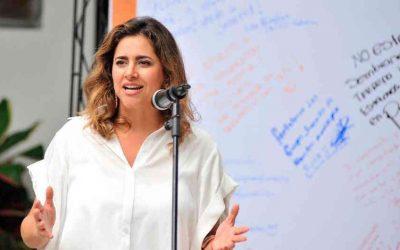 Primera dama de la nación, María Juliana Ruiz, dio positivo por covid-19.