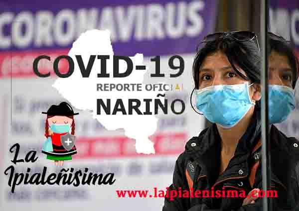Nariño, el sábado 28 de noviembre reportó 149 nuevos positivos para Covid-19